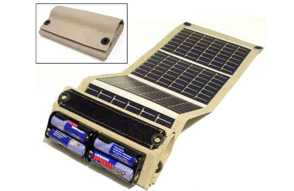 Folding-solar-chargers