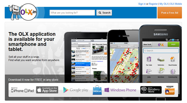 OLX-App-for-Mobile